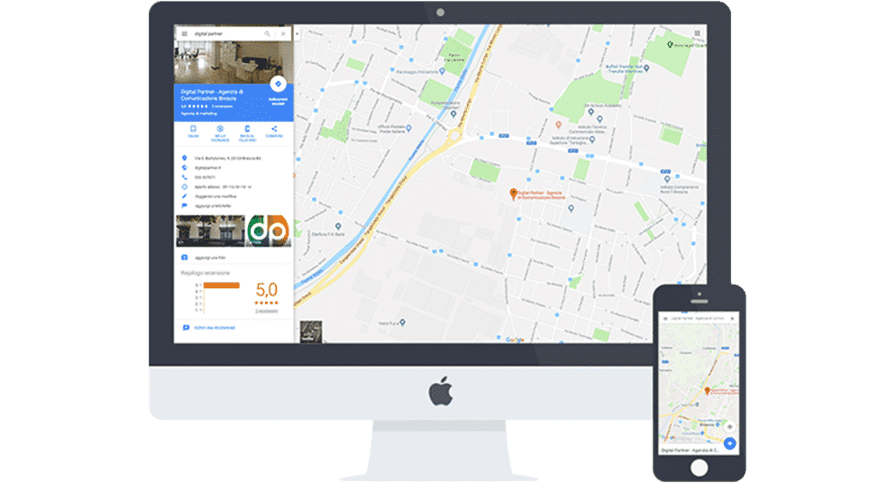 come essere presente sulle mappe di Google