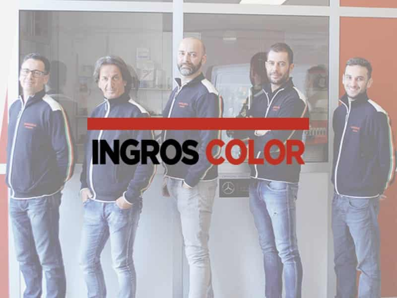 Ingros Color, colorificio Brescia